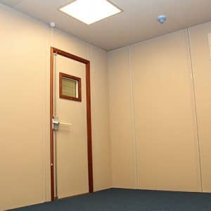 Barton Engineering secure acoustic room interior