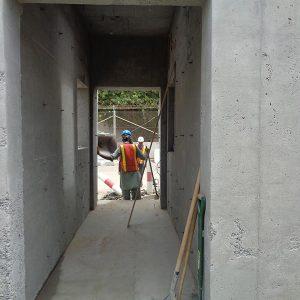 Barton Engineering Guardhouse Jeddah work in progress