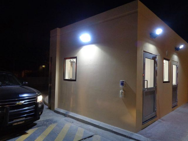 Barton Engineering Guardhouse Jeddah